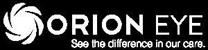 Orion eye logo in white