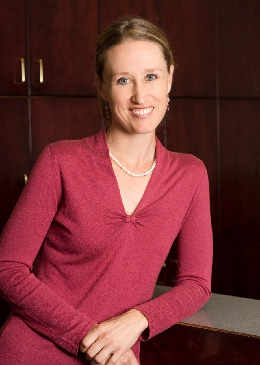 Dr. Kristine Traustason headshot